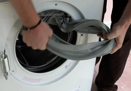 Manchet wasmachine schoonmaken