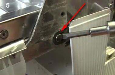 Afstellen inbouw koelkast deur siemens