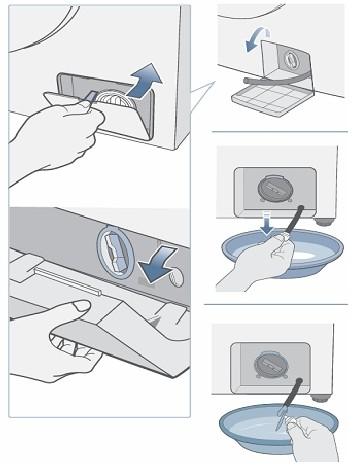 Filter bosch wasmachine schoonmaken