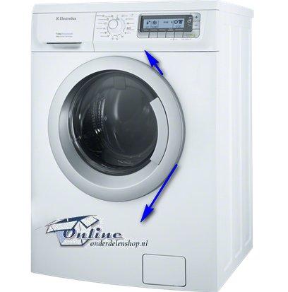 Wasmachine openen