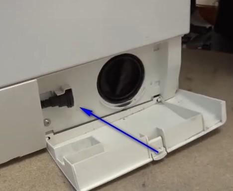 Bosch wasmachine pomp verstopt