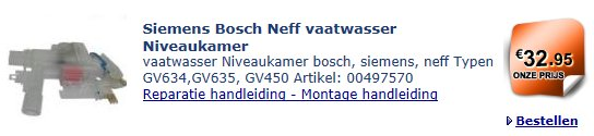 siemens+bosch+neff-vaatwasser-niveaukamer-00497570