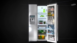 Samsung+Food-ShowCase+ koelkasten