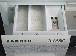 waspoeder-in-de-wasmachine