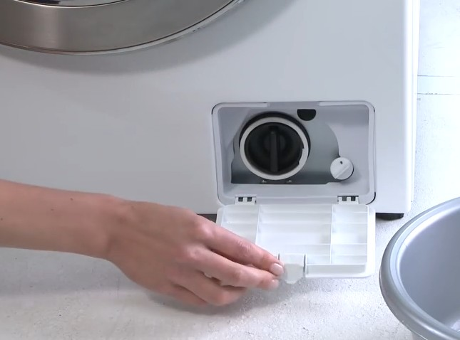 samsung wasmachine pomp filter reinigen witgoedsupport onderdelen. Black Bedroom Furniture Sets. Home Design Ideas
