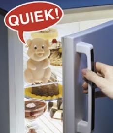 koelkast dieetvarkentje, zet diet piggy in je koelkast